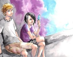 Roxas and Xion by Reebies