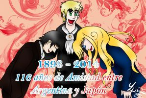 .: Argentina and Japan :. by ArgieArgie