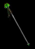 Arcane Staff of the Druid by Dreambow