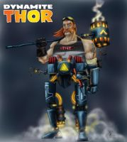 Remake - Dynamite Thor by DBed