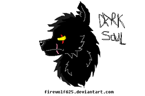 MSPaint- Dark Soul by FillyDrawSilly