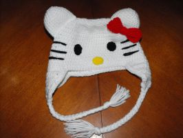 Hello Kitty Hat by Ginger-PolitiCat