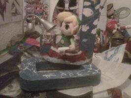 toon link plush and the king of the red lions by ChoasisShinigami