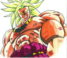 broly looking down on ya CL by trunks24