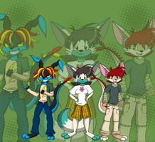 1st Prize: Kangaroo Team by MeckelFoxStudio