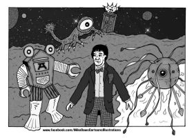 Doctor Who - Oh My Giddy Aunt! by mikedaws