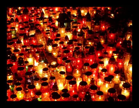 the billion candles burning by A-l-a-s-s-e-a