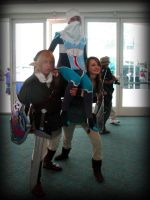 Up and away Sheik and Link by AuberyMirkwood