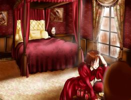 Various rooms: Jessica Queen by HimitsuNotebook