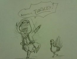 GOBBLE GOBBLE MOTHER FU_KER by Miss-Minimeal