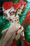Rose Red Faerie by MissJamieBrown