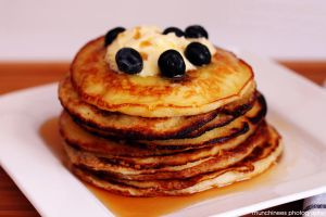 Blueberry Pancakes 2 by munchinees