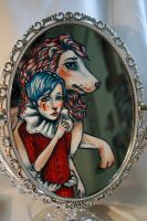 Mirror Detail by puppeteer-for-kings