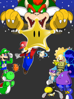 Super Mario Galaxy 2 by faren916