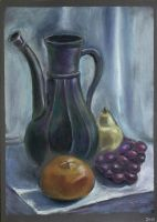 Still life with jar by Cunami-in-october