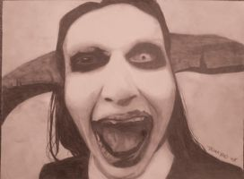 Manson again... by FreakyArtist