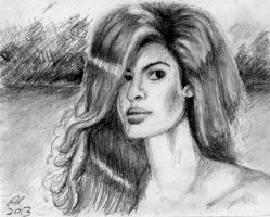 Eva Mendes by philippeL