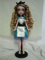 Monster High Alice in Wonderland by jazzycreations