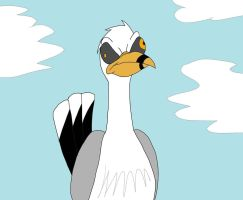Angry Retarded Seagull by MysteryFanBoy718