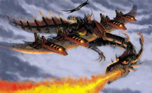 Infernal Dragon Machine by RodGallery
