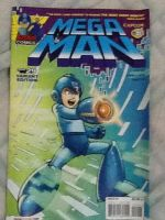 Megaman Issue 29 Comic(Variant Cover) by tanlisette