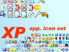 XP app icon set by sacrat