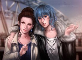 Emma And Clementine by Lilyzou