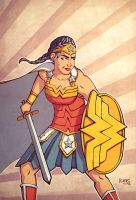 Wonder Woman by alexsollazzo