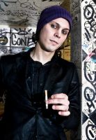 Ville Valo by GIVEthemHORNS