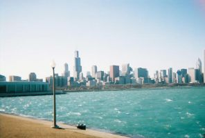 Chicago Skyline by rockershay