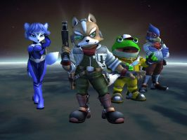 Starfox Team by NightWolf009