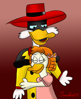 Negaduck Dislikes Hugs But... by sweetkat22