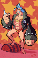 Strong World Franky by TheSteveYurko