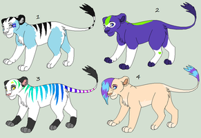 Lioness Adoptables by Kainaa