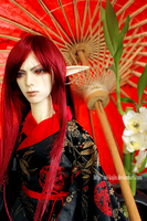 Red Flower by Aoi-kajin