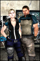 Jill and Chris by Chris-Valentine-X