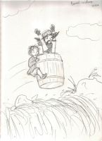Barrel Riders by Hasami-hime