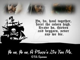 A Pirate's Life For Me.. by FlikSparrow