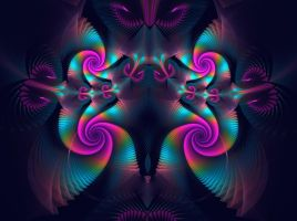 utter confusion in purple by eReSaW