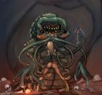 rel and carrion crawler by faustie