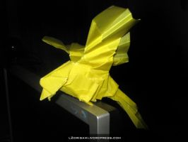Tracing Paper - Origami Bird by DarkUmah