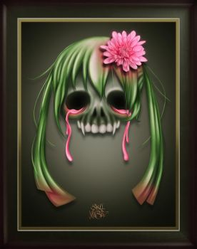 Skull Hairstyle by timecore
