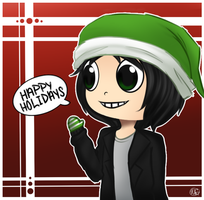 Holiday Sketch Request: Andrew by KiwiKuma