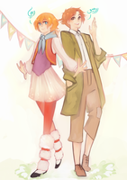 Remi and Romeo by Saylor-boo