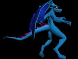 BlueDragon-Textured-Pose1 by SpitFireDragon