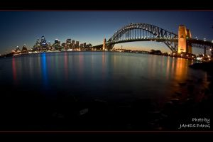 Sydney Harbour Fisheye by jpang