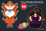 Goddess and Witch - Stickers and More by AnkhsPaw