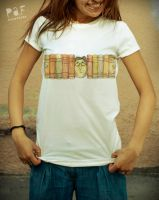 good books t-shirt by Cielodise