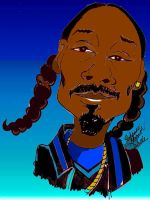 Snoop Dogg Toon In Color by ChocolateHoneybee