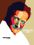 Robin williams in WPAP by dhe-art